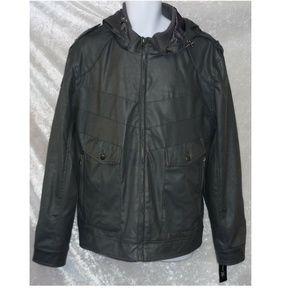 NEW INC Mens Jacket Hooded Size XXL